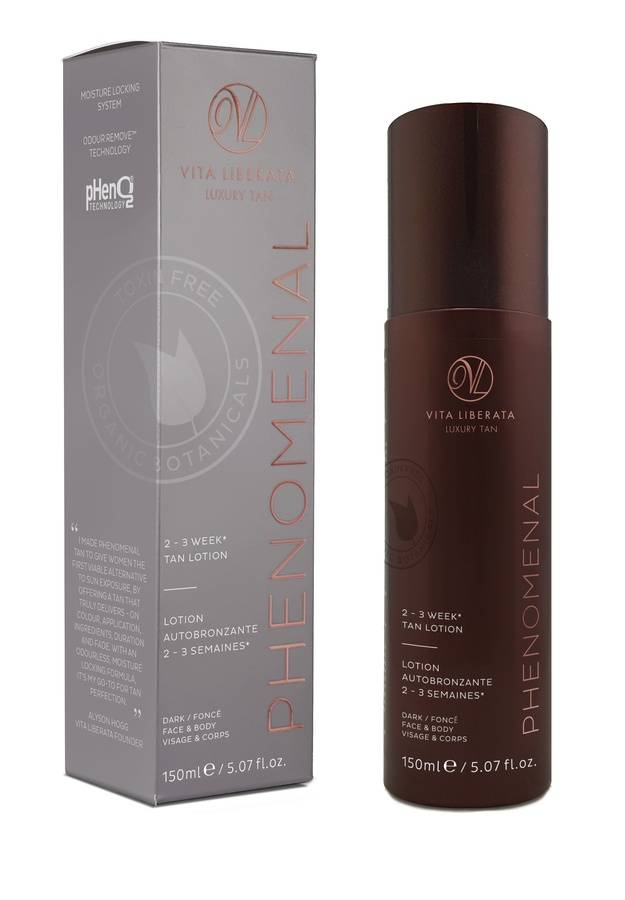 Vita Liberata pHenomenal 2–3 Week Tan Lotion Face & Body 150 ml – Dark