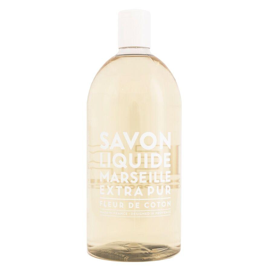 Compagnie De Provence Liquid Soap Refill 1 000 ml – Cotton Flower