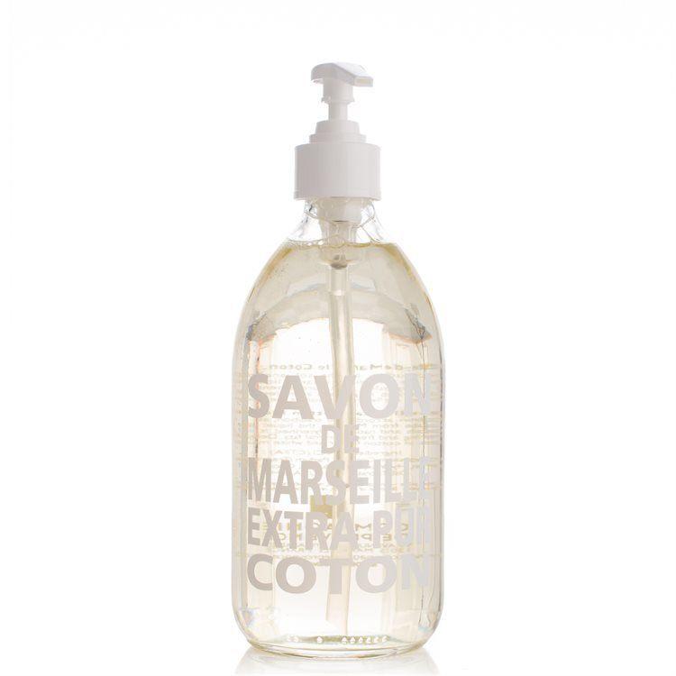 Compagnie De Provence Liquid Soap (Glass Bottle) Cotton Flower 500 ml