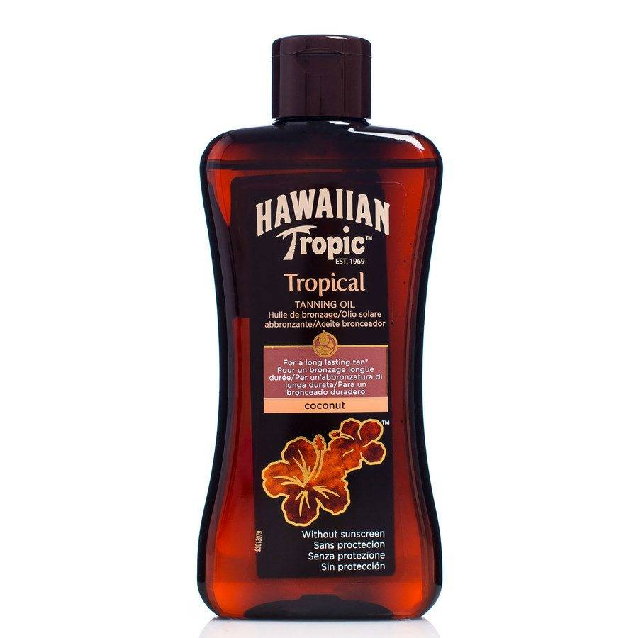 Hawaiian Tropic Tanning Oil Coconut 200 ml