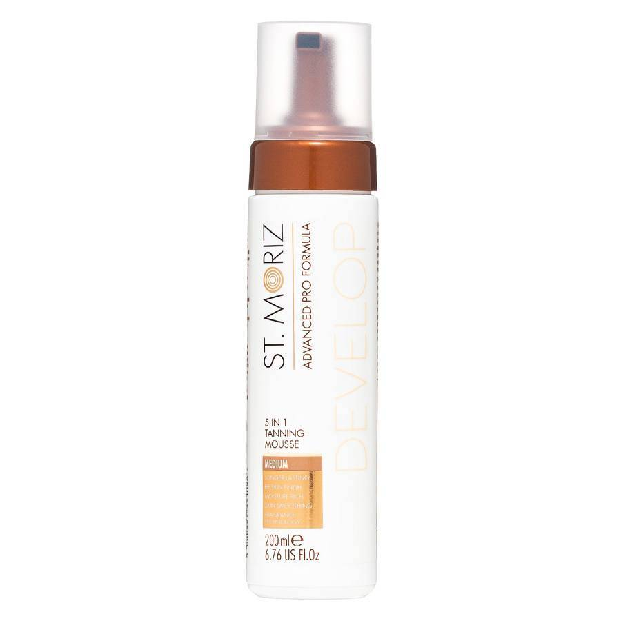 St.Moriz St. Moriz Advanced Pro Formula 5-in-1 Medium Tanning Mousse 200ml