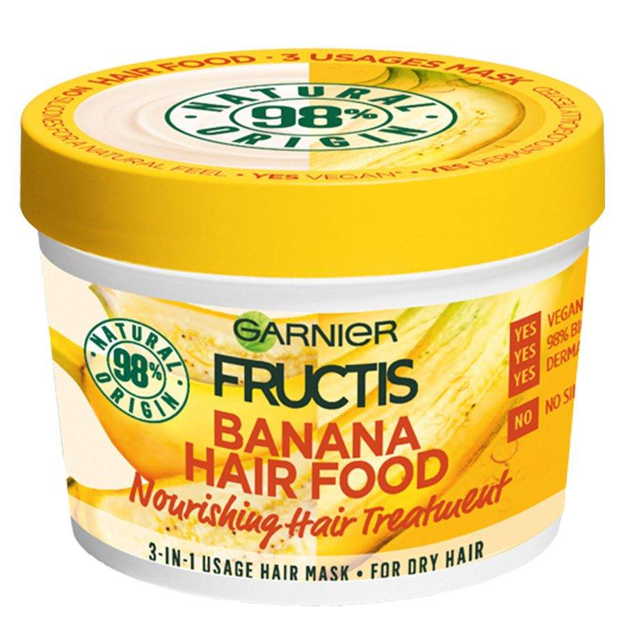 Garnier Fructis Hair Food Mask 390 ml ─ Banana