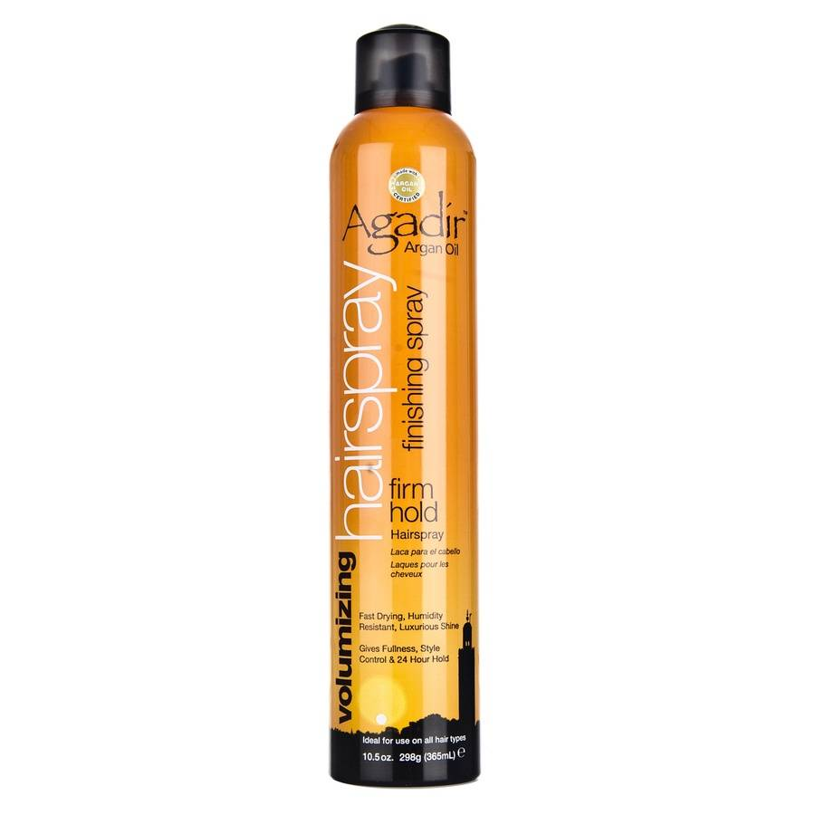 Agadir Argan Oil Volumizing Hairspray Firm Hold 365 ml