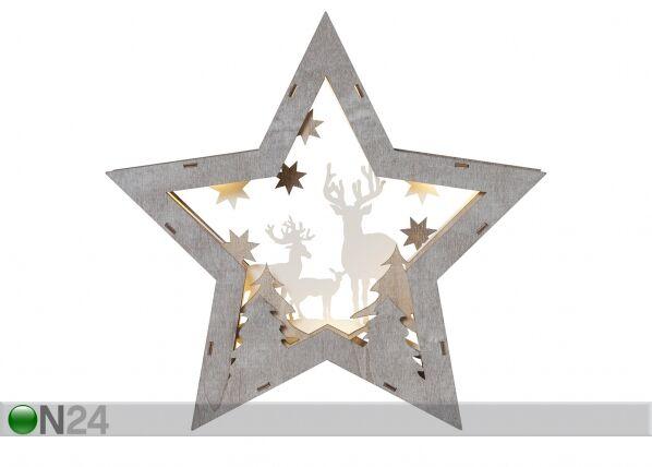 Star Trading LED joulukoriste FAUNA