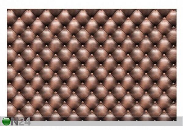 Fleece-kuvatapetti Chesterfield Leather