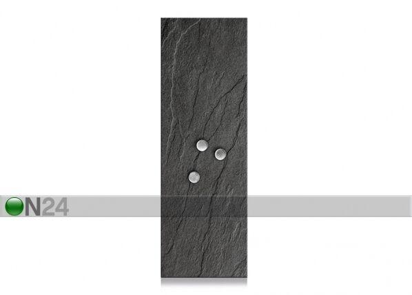 Image of Zeller Present Lasinen muistitaulu 75x25 cm