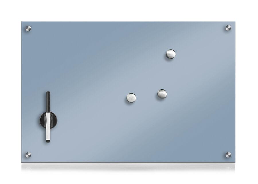 Zeller Present Lasinen muistitaulu 60x40 cm