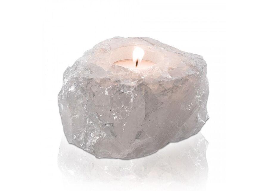 Tervisetooted lämpökynttilän alusta Vuorikristalli