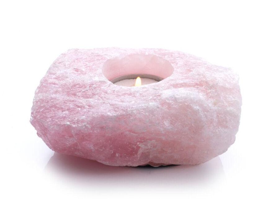 Tervisetooted Lämpökynttilän alusta Vaaleanpunainen kvatrsi
