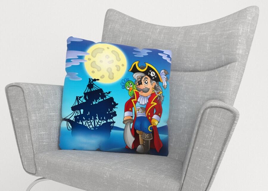 Image of Koristetyynyliina Pirate 50x50 cm