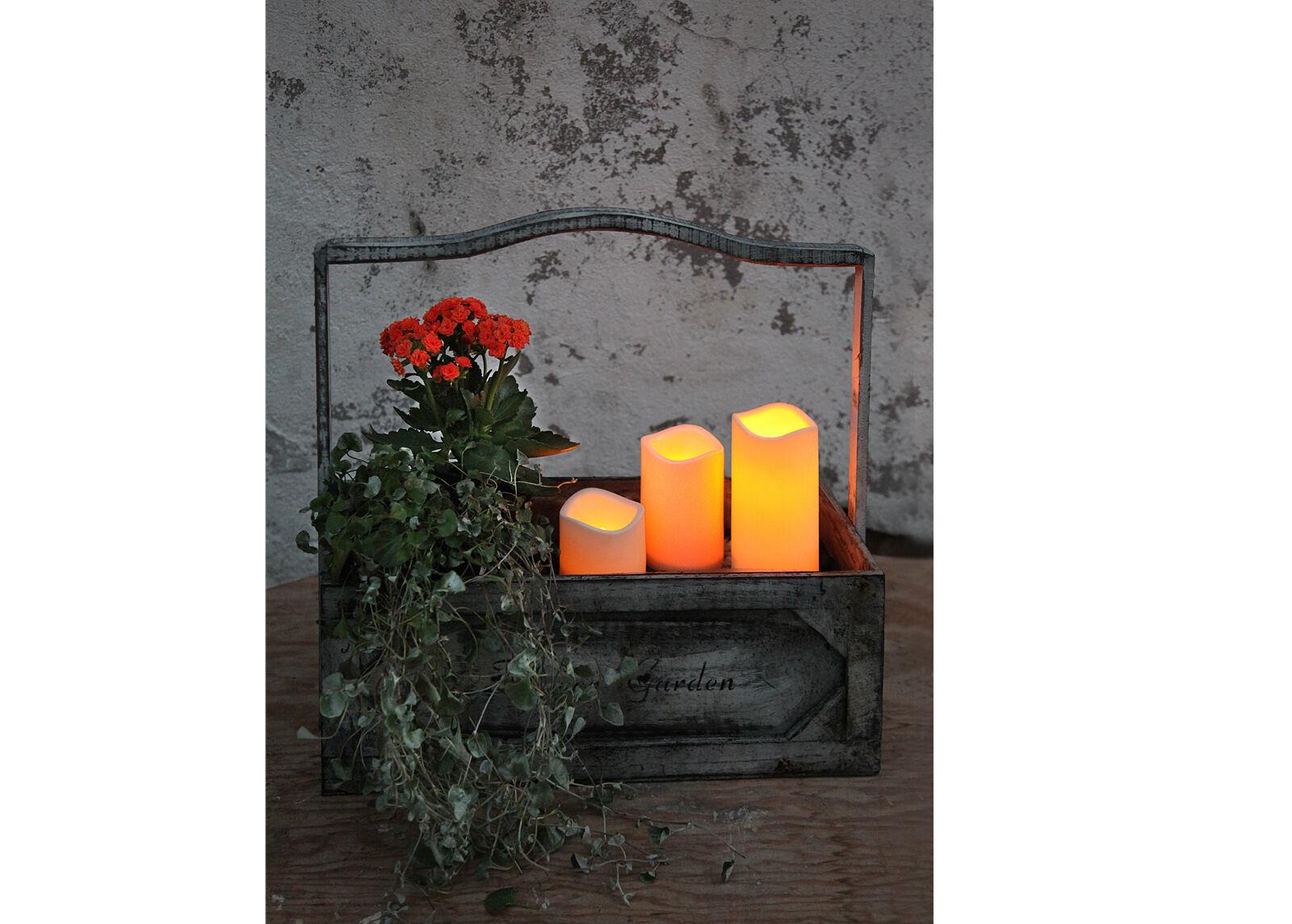 Star Trading LED kynttilä ajastimella 11,5 cm