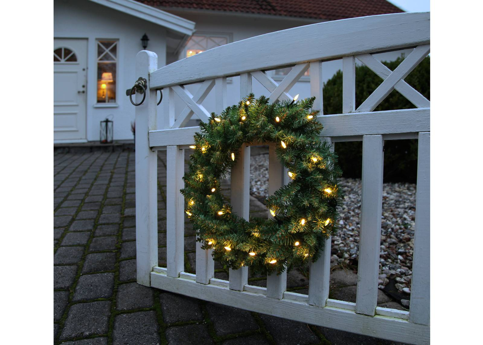 Star Trading Jouluseppele LED valoilla 90 cm