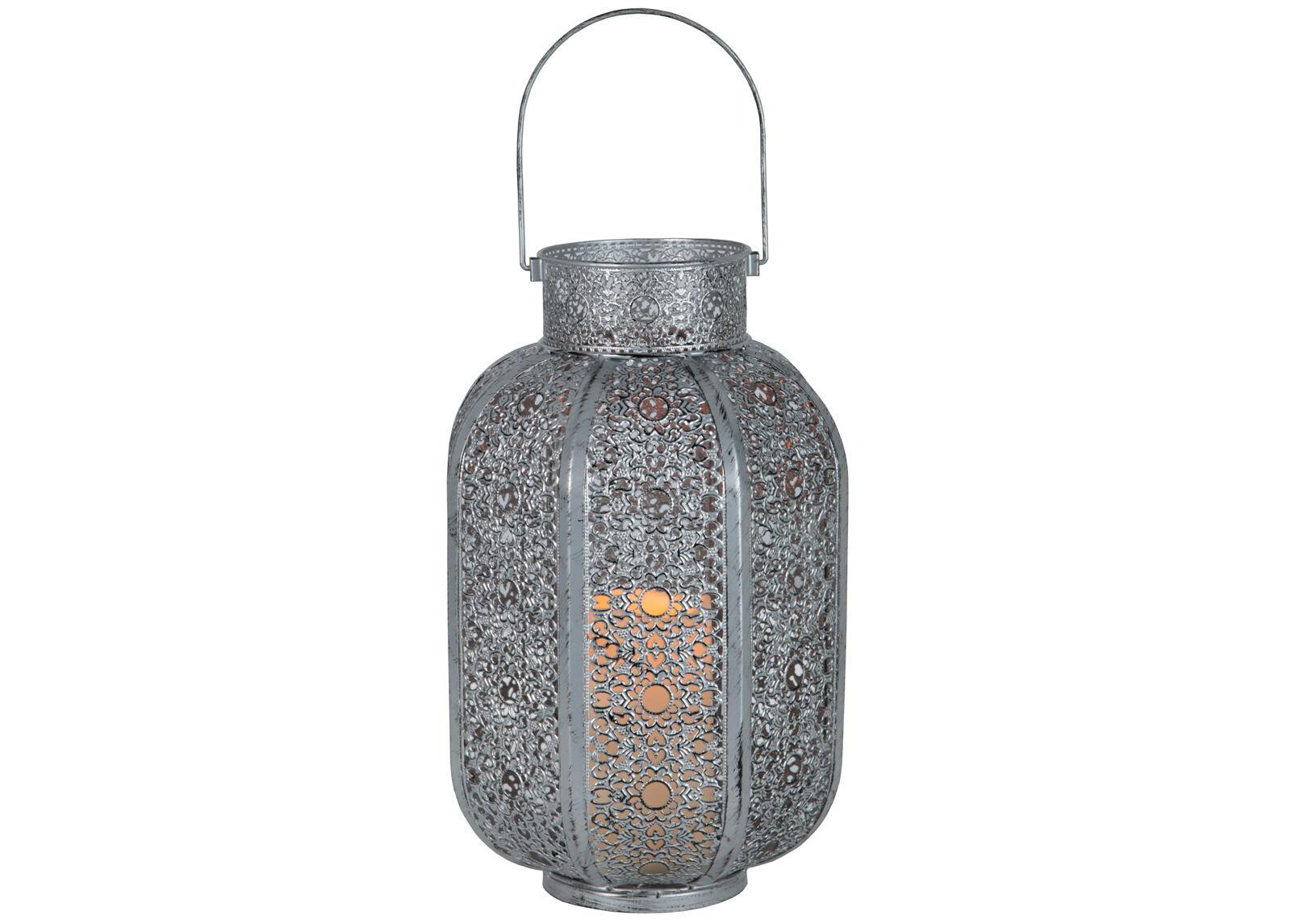 Star Trading Metallinen LED lyhty AGADIR