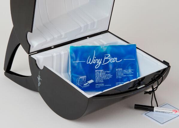 WinyBar Viinitynnyri viinilaatikolle WinyBar 3 L