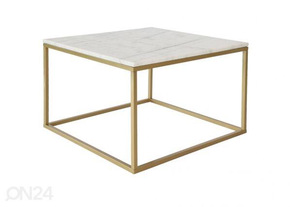 rge Marmorinen sohvapöytä ACCENT 2, 75x75 cm