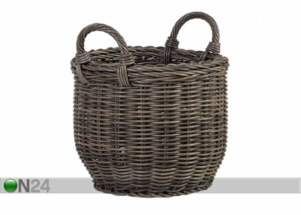 Carden4you Kori WICKER sangoilla Ø34xh26/34 cm