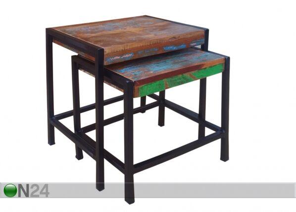 SIT Möbel Sohvapöydät BALI, 2 kpl