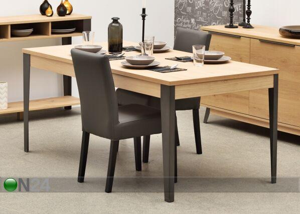 Rio Jatkettava ruokapöytä FORGE 180-270x90 cm