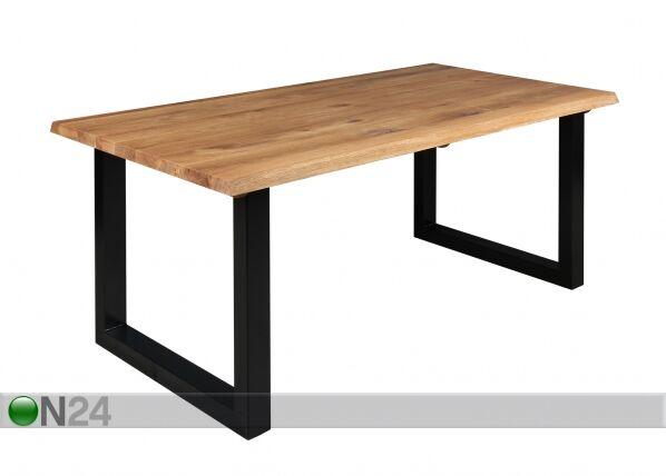 Puinen ruokapöytä BERGAMO 180x95 cm
