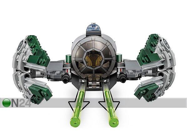 Lego Yoda Jedi Starfighter Star Wars