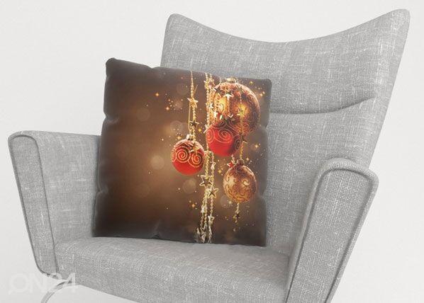 Image of Wellmira Koristetyynyliina CHRISTMAS SHINE 40x40 cm