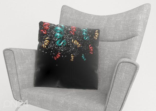 Image of Wellmira Koristetyynyliina CHRISTMAS TINSEL 40x40 cm