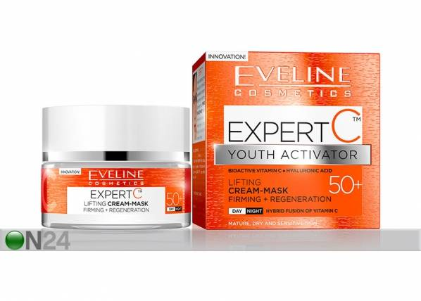 Eveline Cosmetics Expert C kasvovoide-naamio 50+ Eveline Cosmetics 50ml