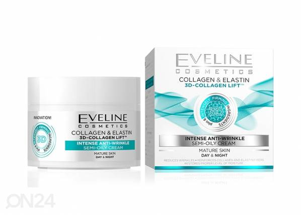 Eveline Cosmetics Nature Line kasvovoide 3D-kollageenilla Eveline Cosmetics5 0ml
