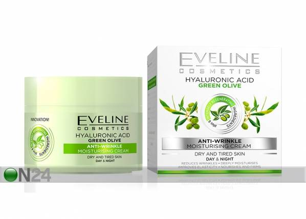 Eveline Cosmetics Nature Line kasvovoide oliivilla Eveline Cosmetics 50ml