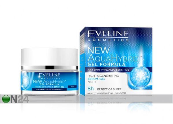 Eveline Cosmetics New Aqua Hybrid elvyttävä yöseerumi-geeli Eveline Cosmetics 50ml