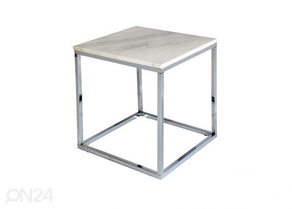 rge Marmori sohvapöytä ACCENT CHROME 50x50 cm