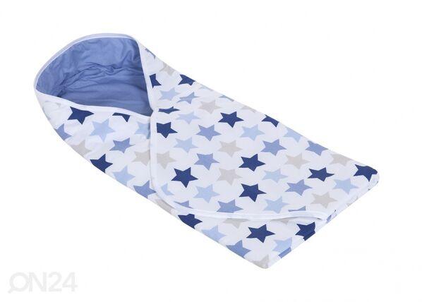 Little Dutch Kapalopussi MIXED STARS BLUE 108x95 cm