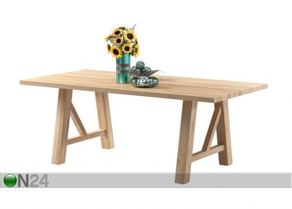 AMC Tammi ruokapöytä NOVARA 200x100 cm