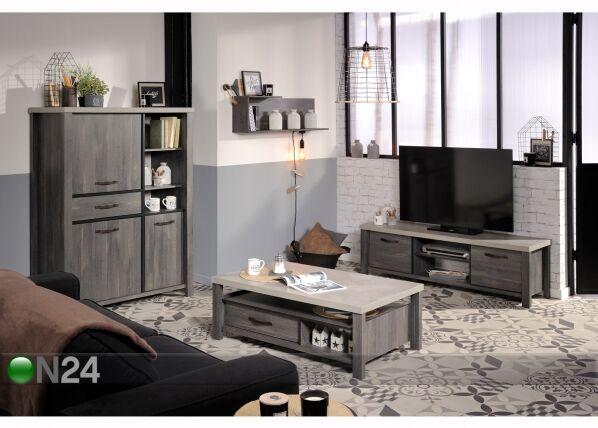Sohvapöytä MAXWELL 110x67 cm