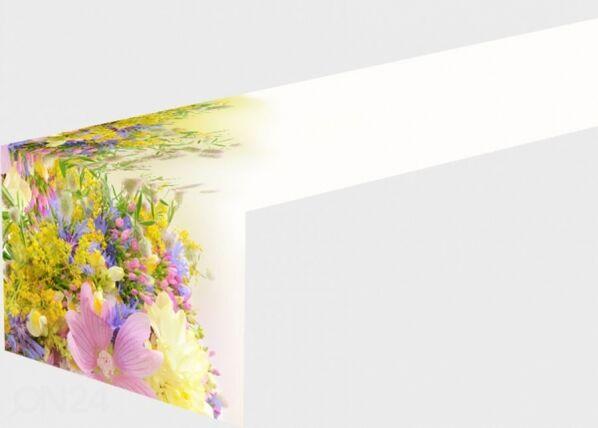 Pöytäliina SUMMER FIELD FLOWERS 50x200 cm