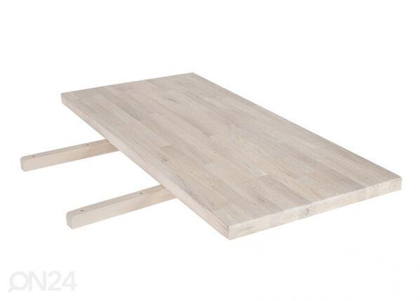 Home4you Ruokapöydän jatko-osa OXFORD 50x100 cm