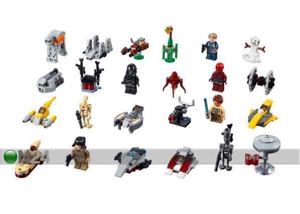Lego Joulukalenteri LEGO Star Wars