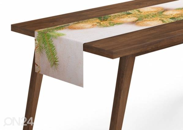 Joululiina GOLDEN XMAS BOWS 40x200 cm