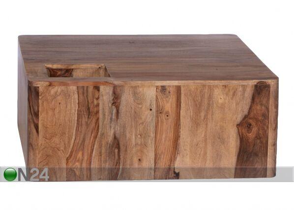 SIT Möbel Sohvapöytä GOA 90x90 cm