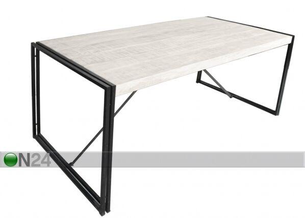 SIT Möbel Ruokapöytä White Panama 180x70 cm