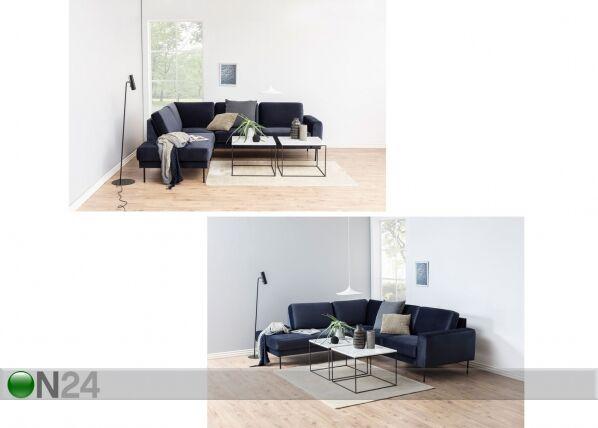 Actona Sohvapöytä marmorilevyllä Bolton 60x60 cm