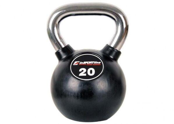 Image of Insportline Kahvakuula 20 kg inSPORTline kumitettu