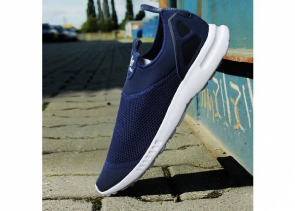 hot sale online b5eea cc3d3 Naisten vapaa-ajan kengät adidas Originals ZX Flux Smooth Slip On W S78958