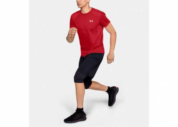 Image of Under Armour Miesten vapaa-ajanpaita Under Armour Threadborne Swft SS Tee M 1318417-629