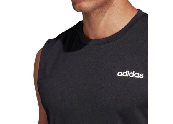 Image of Adidas Miesten hihaton t-paita Adidas D2M SL 3S M DT3047