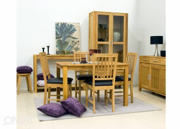 Home4you Tamminen ruokapöytä GLOUCESTER 75x120 cm