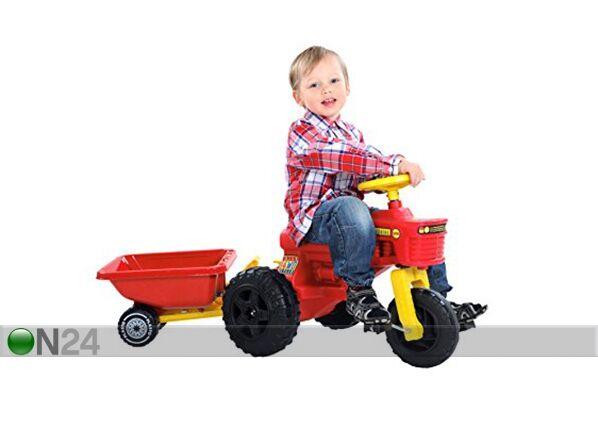 PLASTO Traktori polkimilla