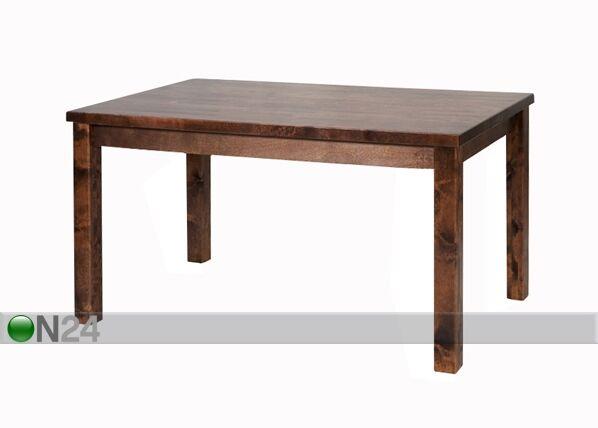 Image of Ruokapöytä, koivu 80x130 cm