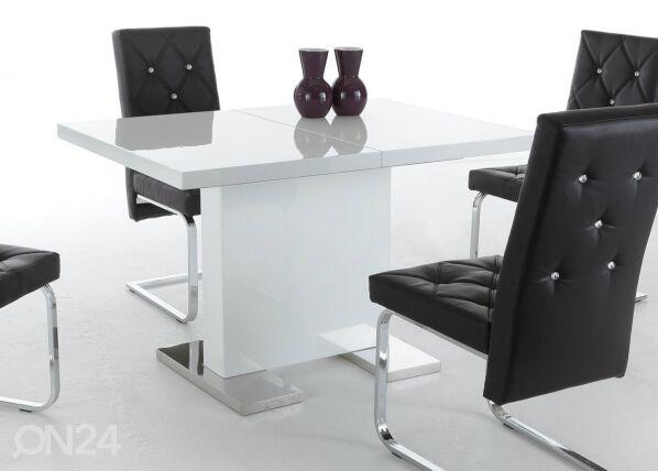 Image of HELA Jatkettava ruokapöytä IRIS II 80x120-160 cm