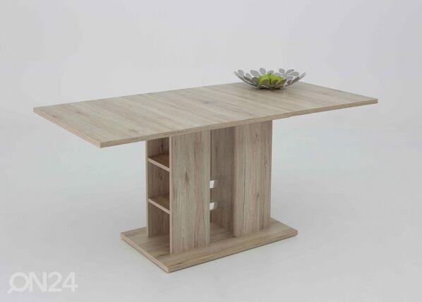Image of HELA Jatkettava ruokapöytä STEFFI 80x120-160 cm